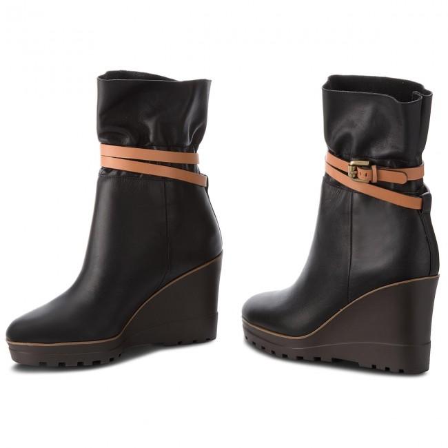 Boots SEE BY CHLOÉ SB31111A Oslo Calf 999 NeroNatural