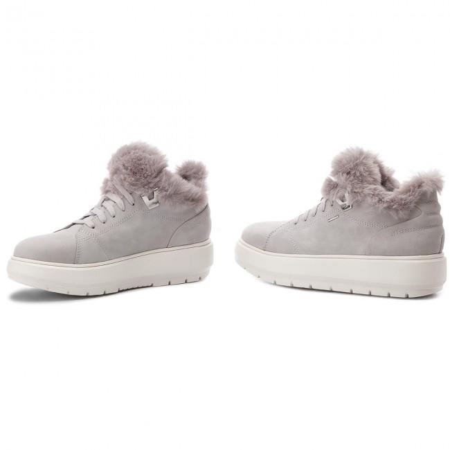 Sneakers GEOX D Kaula B Abx A D84AWA 00032 C1010 Lt Grey