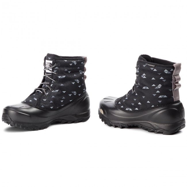 1b932c67a29 Snow Boots THE NORTH FACE - Tsumoru Boot T93MKT5UB Tnf Black Triangle Weave  Print/Foil Grey