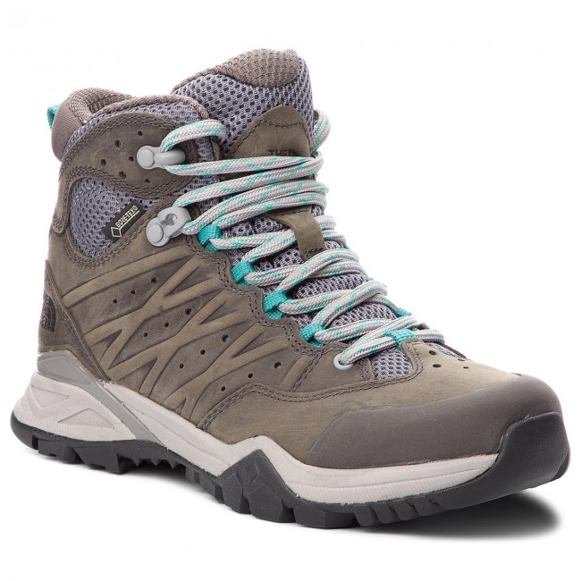 8abe63f3c Trekker Boots THE NORTH FACE - Hedgehog Hike II Mid Gtx GORE-TEX T939IA4FZ  Q-Silver Grey/Porcelain Green1