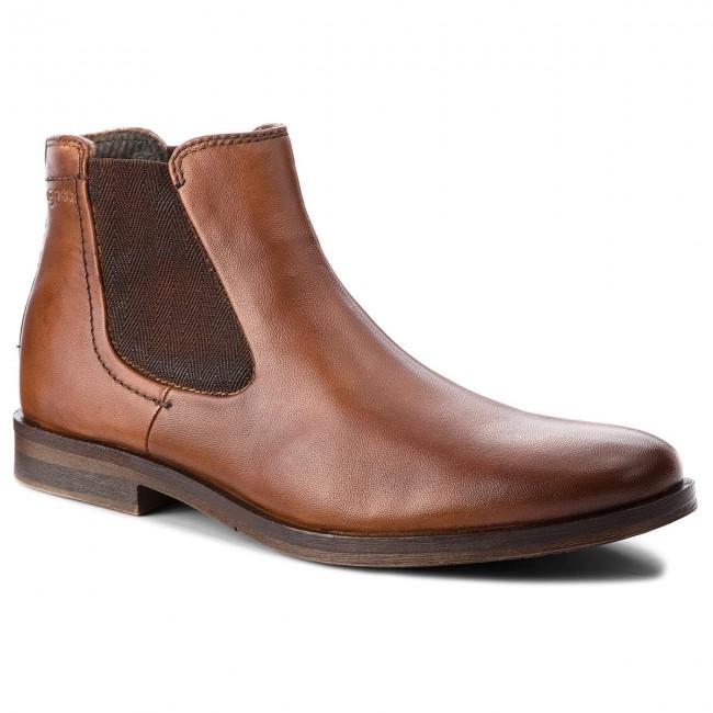 20a695b99c2a8 Ankle Boots BUGATTI - 311-17336-4100-6300 Cognac - Chelsea boots ...