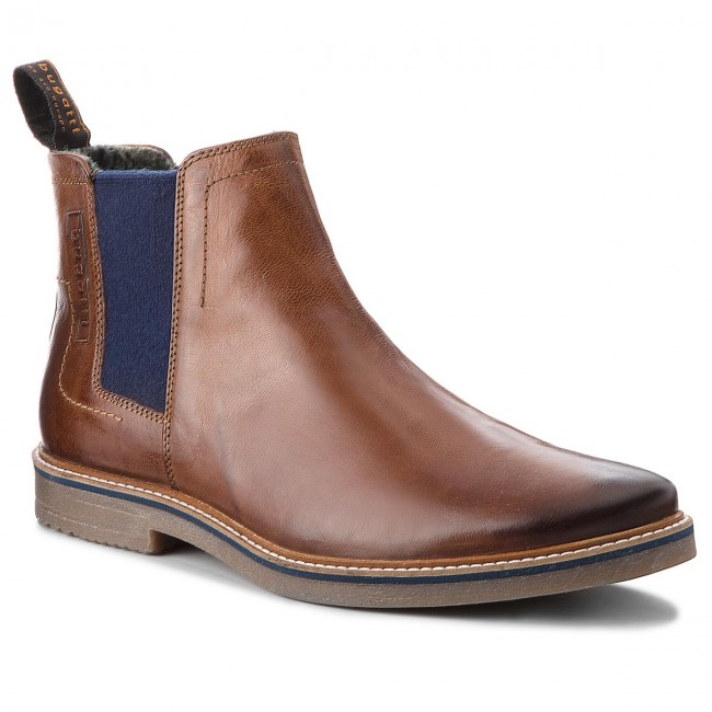165a4d9f95fe6 Ankle Boots BUGATTI - 311-60930-3000-6300 Cognac - Chelsea boots - High  boots and others - Men's shoes - efootwear.eu