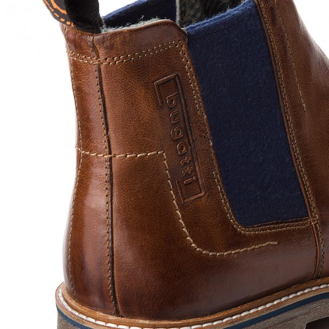 Ankle Boots BUGATTI 311 60930 3000 6300 Cognac