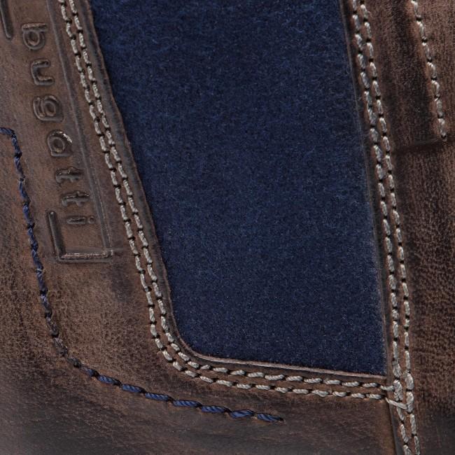 d5834fecc8bb9 Ankle Boots BUGATTI - 311-60930-3200-1100 Dark Grey - Chelsea boots ...