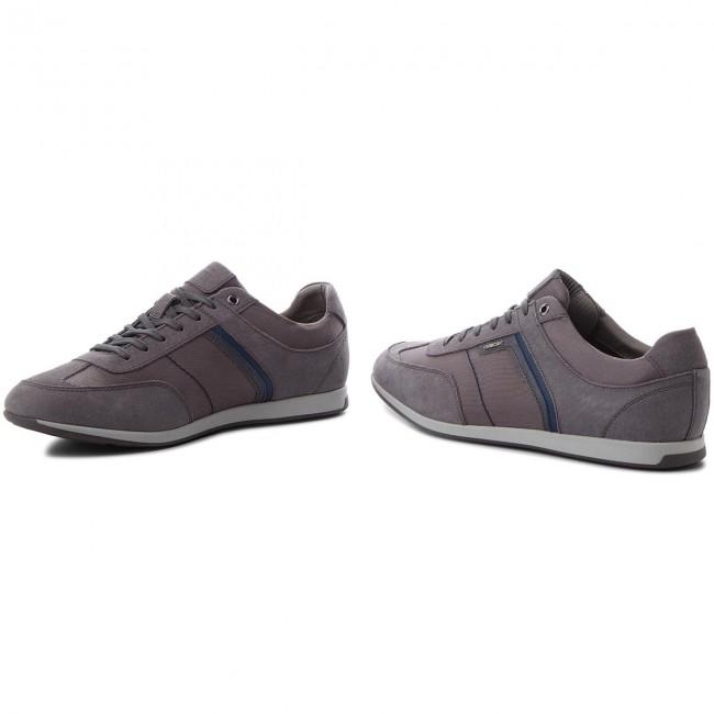 U Anthracite Sneakers Geox B Clemet 02211 U722fb C9004 A4RL3j5q