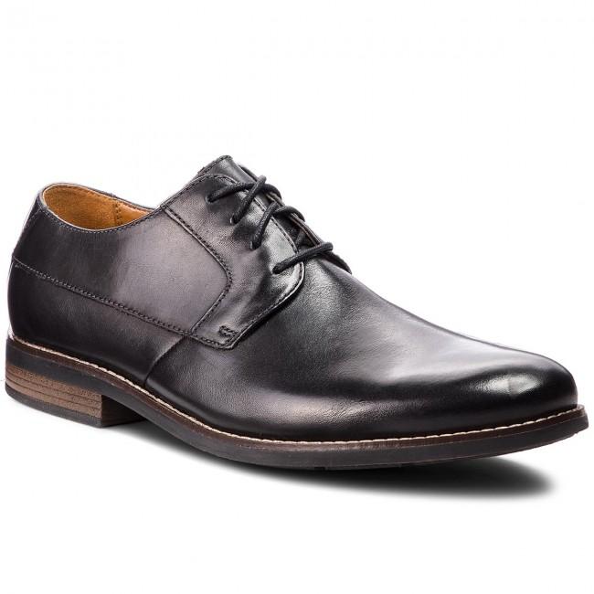 8119ba06eed35 Shoes CLARKS - Becken Plain 261231487 Black Leather - Formal shoes - Low  shoes - Men's shoes - efootwear.eu