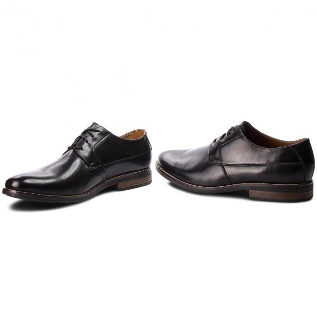 9d3129b1af393 Shoes CLARKS - Becken Plain 261231487 Black Leather - Formal shoes ...
