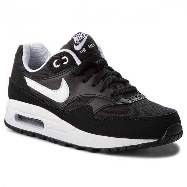 Shoes NIKE Air Max 1 (GS) 807602 001 BlackWhite