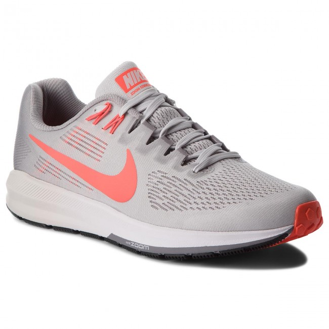 Shoes NIKE Air Zoom Structure 21 904695 006 Vast GreyBright Crimson