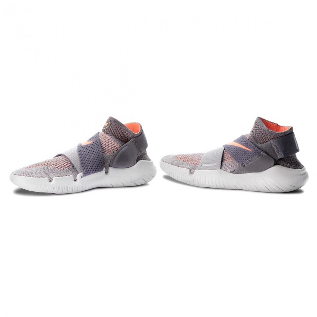 the latest c5495 cdced Shoes NIKE - Free Rn Motion Fk 2018 942841 003 Atmosphere Grey/Crimson Pulse