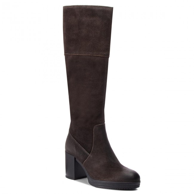 Pulido cantante Salida hacia  Knee High Boots GEOX - D Remigia A D84AFA 000HM C6372 Mud - Jackboots -  High boots and others - Women's shoes | efootwear.eu
