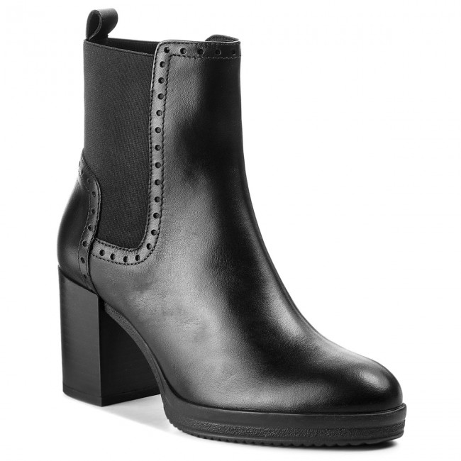 ambición micrófono aceleración  Boots GEOX - D Remigia F D84AFF 00043 C9999 Black - Boots - High boots and  others - Women's shoes | efootwear.eu