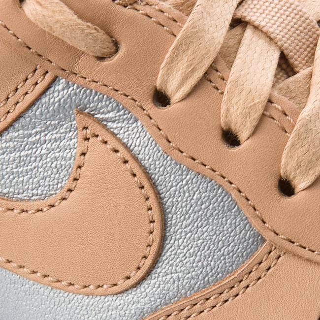 Shoes NIKE Air Force 1 '07 Se Prm AH6827 200 Bio BeigeMetallic Silver