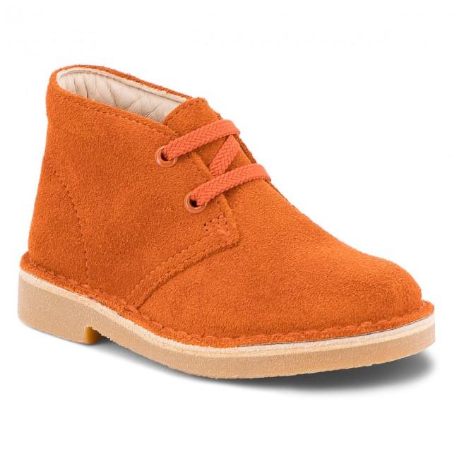 Boots CLARKS - Desert Boot 261350257 Rust Suede