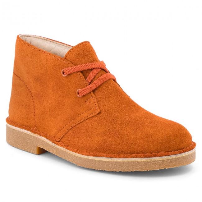 Boots CLARKS - Desert Boot 261350667 Rust Suede