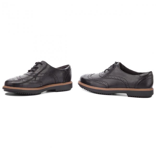 Corta vida Cesta como el desayuno  Oxfords CLARKS - Raisie Hilde 261363424 Black - Oxfords - Low shoes -  Women's shoes | efootwear.eu