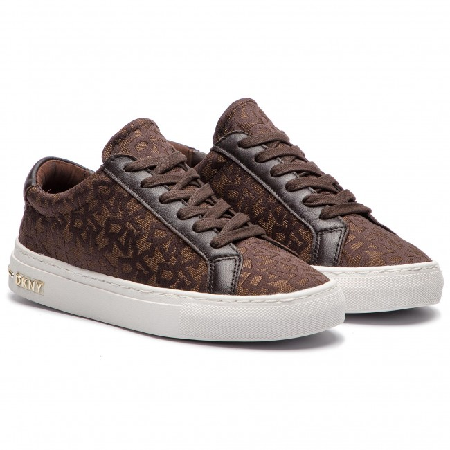 Sneakers Dkny - Court K2047881 Brown Low Shoes Women's