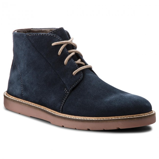 el último Moderador Nylon  Boots CLARKS - Grandin Mid 261364477 Navy Suede - Boots - High boots and  others - Men's shoes | efootwear.eu