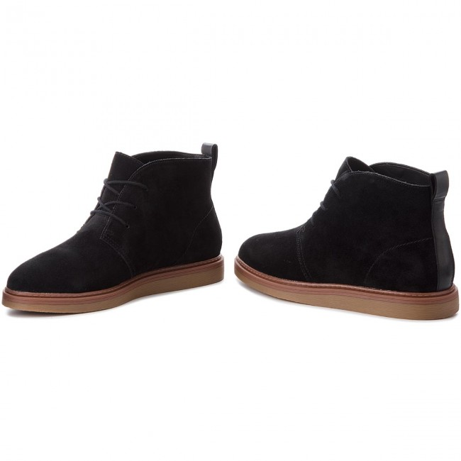 Cargado Útil Traición  Boots CLARKS - Dove Roxana 261372264 Black Suede - Boots - High boots and  others - Women's shoes | efootwear.eu