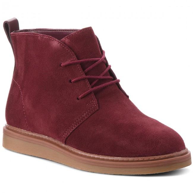láser Establecer Tranquilizar  Boots CLARKS - Dove Roxana 261372274 Burgundy Suede - Boots - High boots  and others - Women's shoes | efootwear.eu