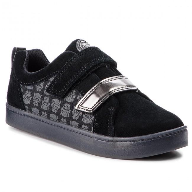 Sneakers CLARKS City Hero Lo 261376677 BlackBlk Suede