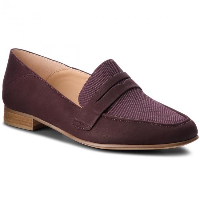 unique design big collection various colors Shoes CLARKS - Pure Iris 261379514 Aubergine
