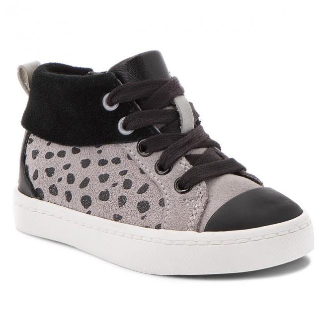 Boots CLARKS - City Vine Hi 261380496 Grey Suede
