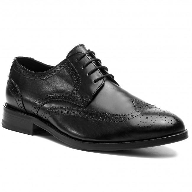 cobre pecho túnel  Shoes CLARKS - James Wing 261385107 Black - Formal shoes - Low shoes -  Men's shoes | efootwear.eu