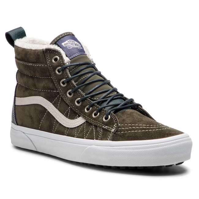 Vans Sk8 HI MTE Dusty Olive Womens Shoes | Vans sk8, Shoes, Vans