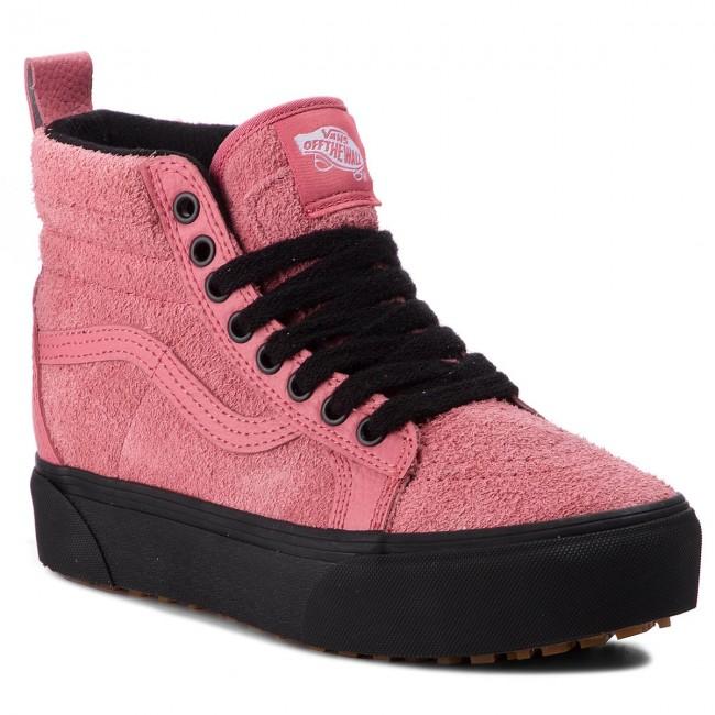 421c9691f Sneakers VANS - SK8-Hi Platform M VN0A3TKOUCE (Mte) Desert Rose/Black -  Sneakers - Low shoes - Women's shoes - efootwear.eu