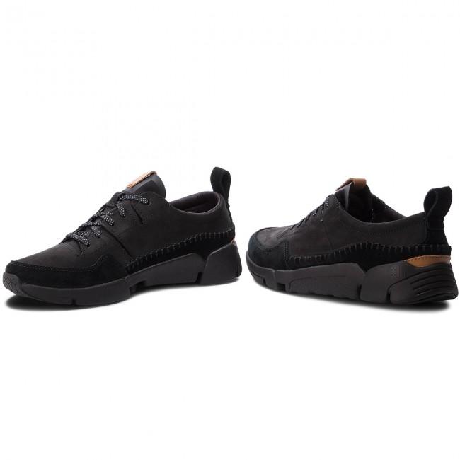 clarks originals mens triactive run leather sneakers