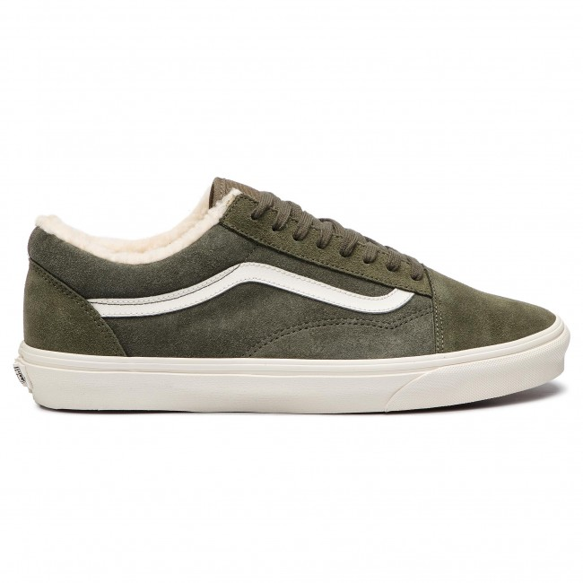Plimsolls VANS Old Skool VN0A38G1ULZ1 (SuedeSherpa) Grape Leaf