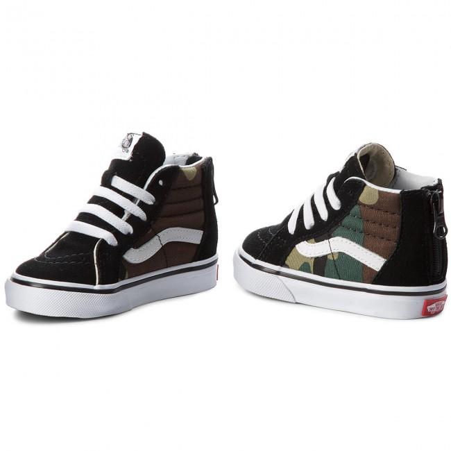 Sneakers VANS Sk8 Hi Zip VN0A32R3NRA (Woodland Camo) BkWoodlnd
