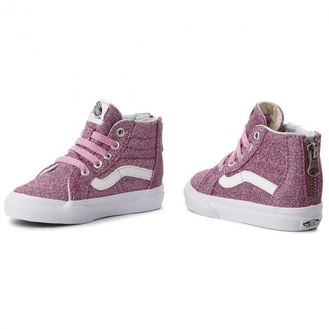 Sneakers VANS Sk8 Hi Zip VN0A32R3U3U (Lurex Glitter) PinkTrue