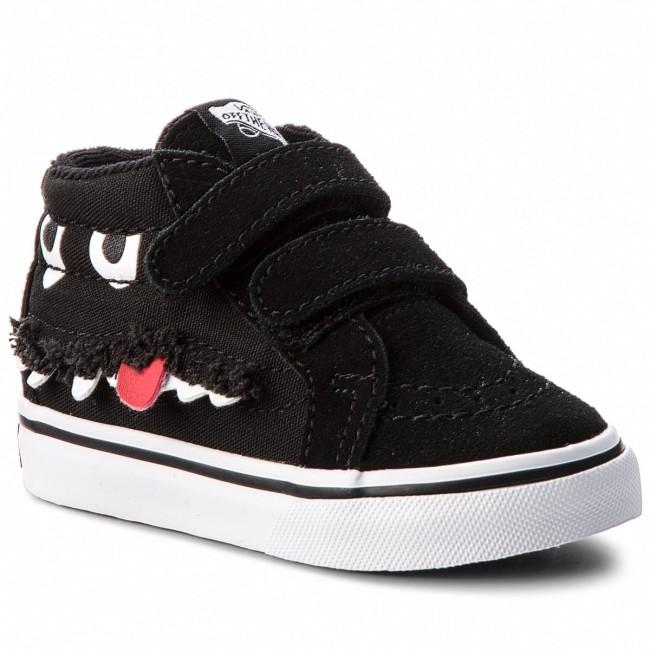 Vans Sk8 Mid Reissue V Skate Shoe Little Kid Black