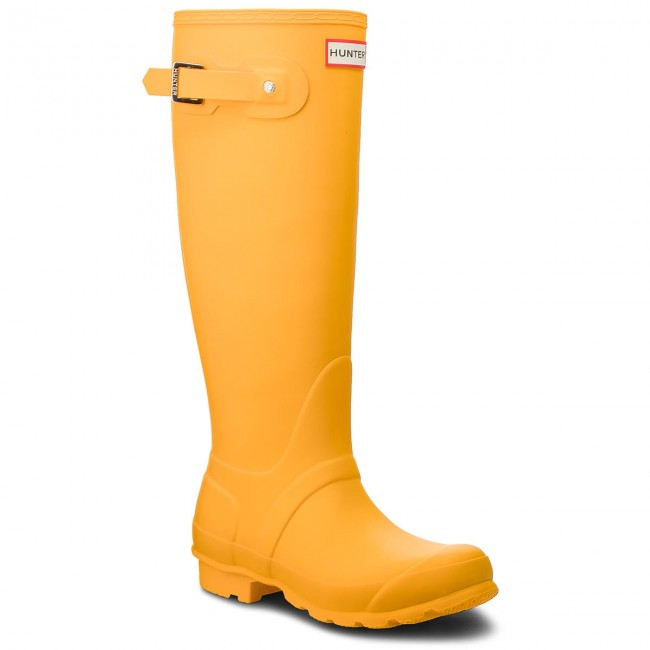 Wellingtons HUNTER - Org Tall WFT1000RMA Yellow