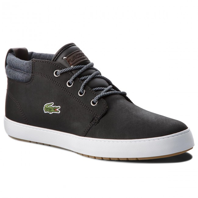 d5e9f825a Sneakers LACOSTE - Ampthill Terra 318 1 Cam 7-36CAM0005231 Blk/Gry ...