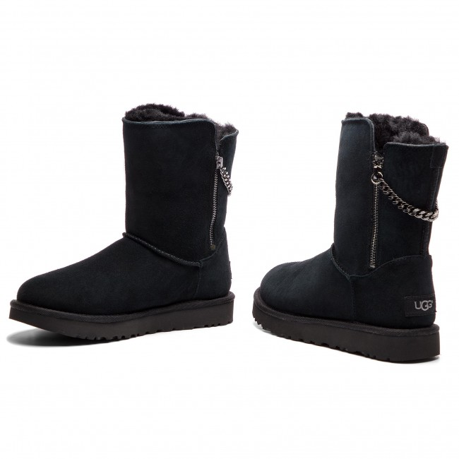 Shoes UGG W Classic Sparkle Zip 1094983 WBlk