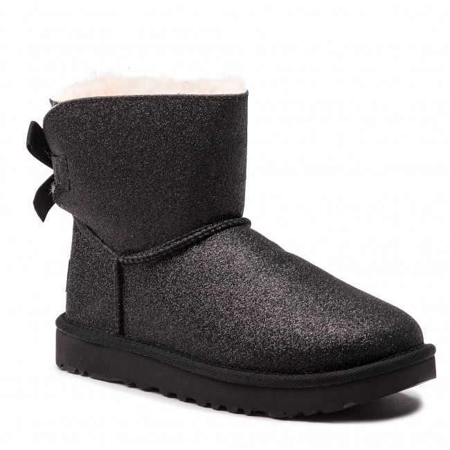 5b9c31f108b Shoes UGG - W Mini Bailey Bow Sparkle 1100053 W/Blk
