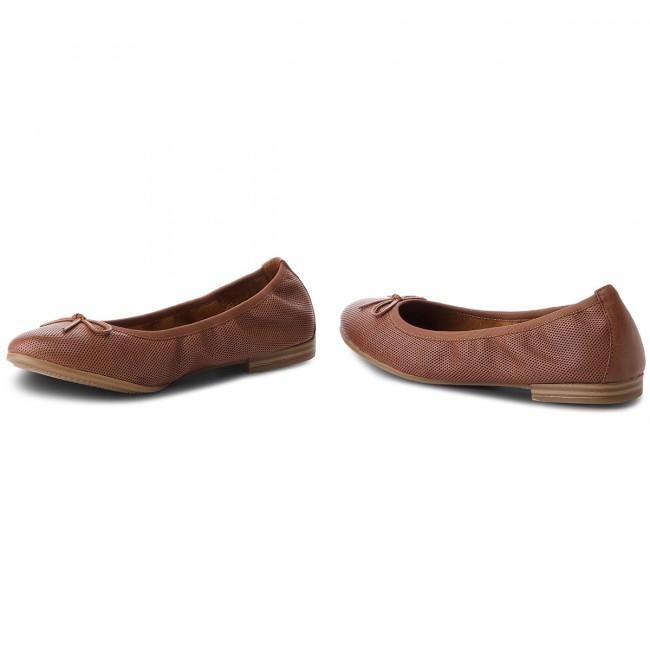 Flats TAMARIS 1 22116 20 Cognac Struct 372