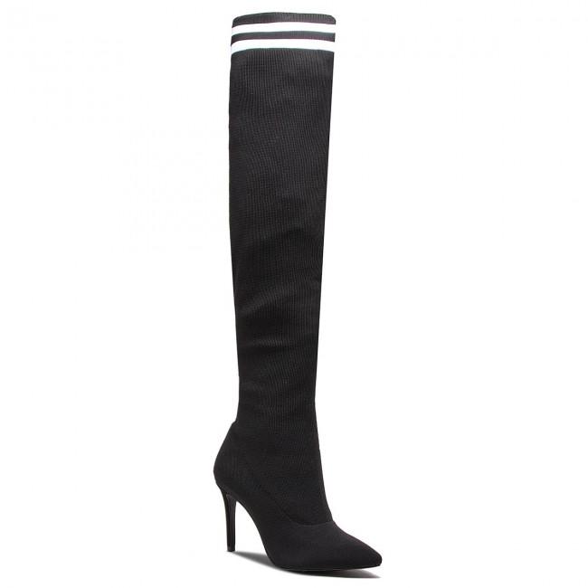 Over Knee Boots SCHUTZ S 01723 0285 001 U BlackWhite