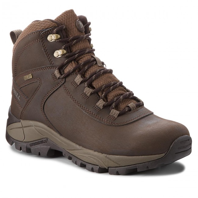 Merrell Vego Mid Leather Espresso J311539C// Lifestyle Footwear Men/'s Boots