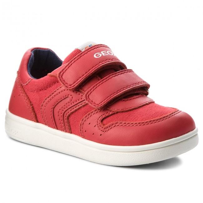 Acercarse consumo recepción  Sneakers GEOX - B Djrock B. B B822CB 01085 C7000 S Red - Velcro - Low shoes  - Girl - Kids' shoes | efootwear.eu