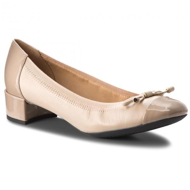 Shoes GEOX D Carey A D54V8A 08502 C6738 Lt Taupe