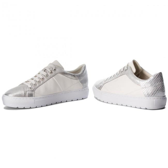 Sneakers GEOX D Breeda D D822QD 0BCKY C0007 WhiteSilver