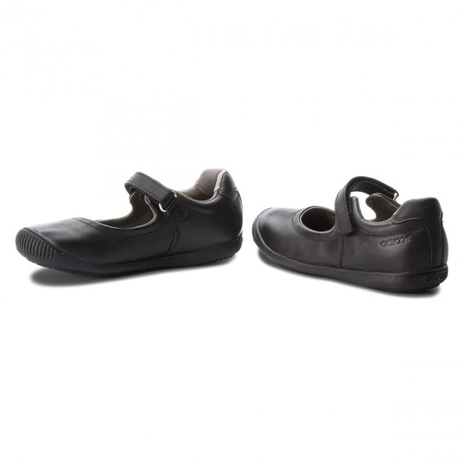 Contra la voluntad Elocuente Mexico  Shoes GEOX - J Gioia 2FIT G. A J643CA 00043 C9999 S Black - Velcro - Low  shoes - Girl - Kids' shoes | efootwear.eu