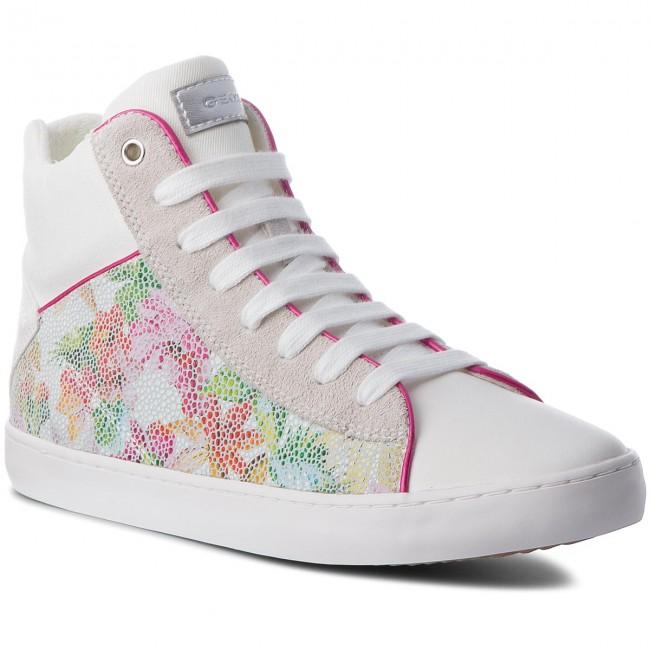 Sneakers GEOX J Kilwi G H J82D5H 007DW C0653 D WhiteMulticolor