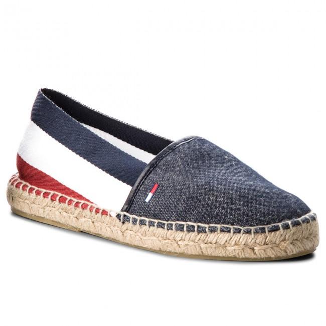 Tommy Jeans Womens Corporate Flat Tj Espadrille