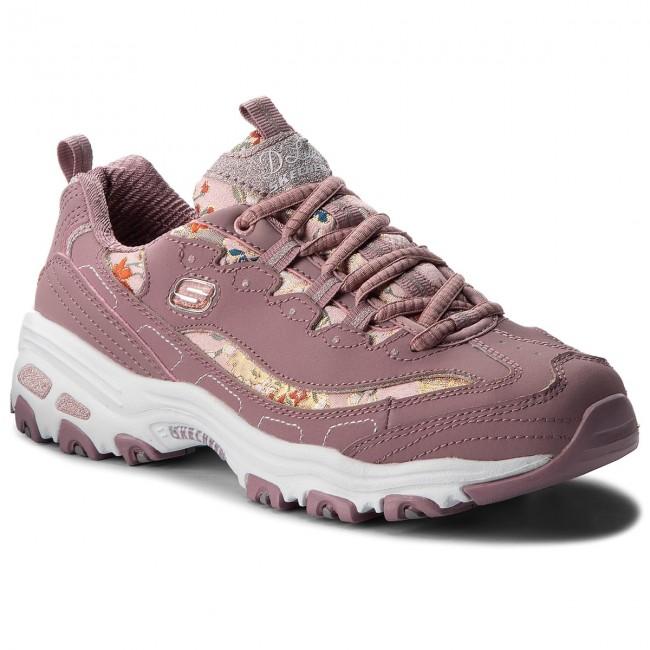Brillante precisamente Prisión  Sneakers SKECHERS - Floral Days 13082/MVE Mauve - Sneakers - Low shoes -  Women's shoes   efootwear.eu