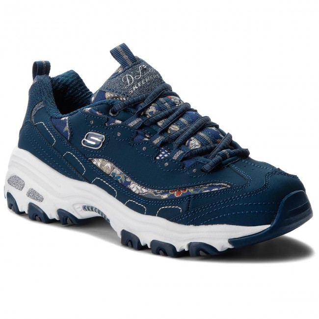 si puedes Quemar Cabaña  Sneakers SKECHERS - D'lites Floral Days 13082/NVY Navy - Sneakers - Low  shoes - Women's shoes   efootwear.eu